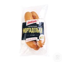 Сардельки мортадельки в.с н.о Глобино