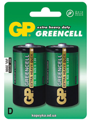 Батарейка GP R20G