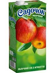 Сік Садочок 0.5л яблуко