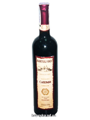 Вино Kartuli Vazi 0.75л саперавi сухе червоне