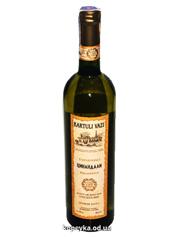 Вино Kartuli Vazi 0.75л цінандалi сухе бiле