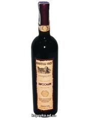 Вино Kartuli Vazi 0.75л пiросманi н.сухе червоне