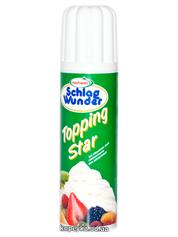 Вершки Мей 250г topping star аерозоль білі