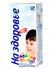 Молоко На здоров`я 1л дитяче
