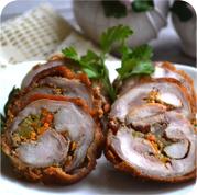 Рулет з кролика та овочами (зпецзаказ)