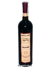 Вино Kartuli Vazi 0.75л кiндзмараулi н.солодке червоне