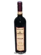 Вино Kartuli Vazi 0.75л мукузанi сухе червоне