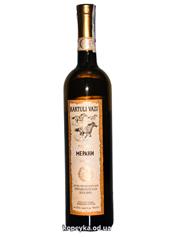 Вино Kartuli Vazi 0.75л меранi н.сухе бiле