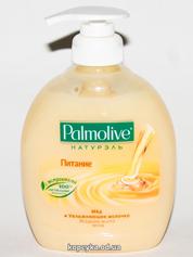 Мило рідке Palmolive 300мл молоко мед