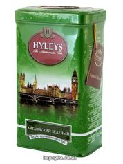 Чай Хейліс 125г англійський зелений ж.б