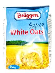 Вівсяні пластівці Брюгген 500г super white oats
