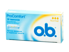 Тампони О.b. pro comfort normal 16шт