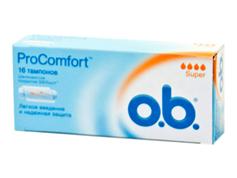 Тампони О.b. pro comfort super 16шт