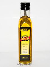 Олія оливкова Коополіва 0.25л нерафіно с.б