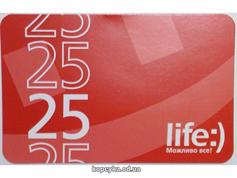 Скретч карта Life 25