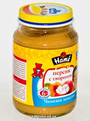Пюре Hame 190г персик сир