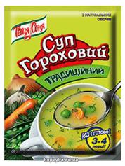 Суп Тітка Соня 70г гороховий традиційний