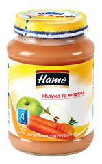 Пюре Hame 190г яблуко морква