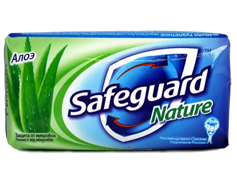 Мило Safeguard 90г алое
