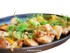 Куриное филе с овощами Santim