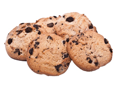 Печиво Рошен тортинка шоколад