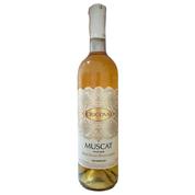 Вино Крікова 0.75л мускат мереживо н.солодке біле