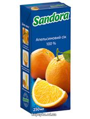 Сік Сандора 0.25л апельсин