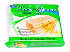 Хлібці-молодці Дієтичний продукт 100г пшениця овес ячмінь діабет