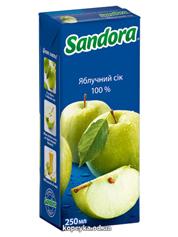 Сік Сандора 0.25л яблуко