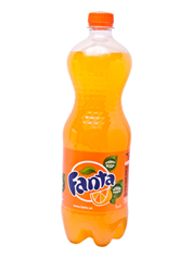 Вода Фанта 1л апельсин