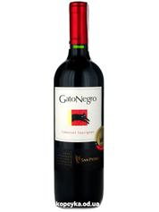 Вино Гато Негро 0.75л каберне совьньон червоне сухе