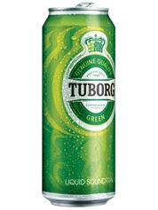 Пиво Туборг 0.5л грін ж.б