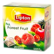 Чай Ліптон 20п forest fruit tea пірамідкі