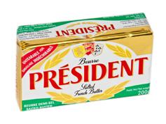 Масло Президент 200г 82% солоне