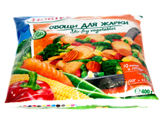 Овочі д.смаження Хортекс 400г
