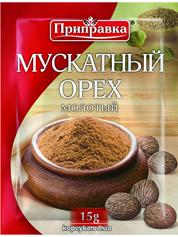 Мускатний горіх Приправка 15г мелений