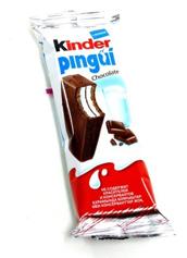 Піроженоє бісквітне Кіндер 30г пінгвін