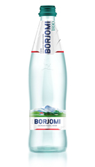 Вода Боржоми 0.5л минеральная винт с.б