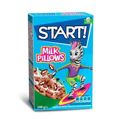 Пластівці Стар 100г подушечки молоко