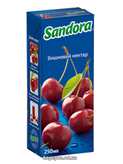 Нектар Сандора 0.25л вишня