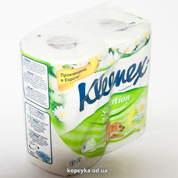 Туалетний папір Veltie kleenex 4шт ромашка