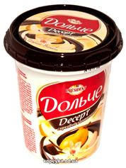 Творожный десерт Дольче Президент 400г 4% глазурь груша
