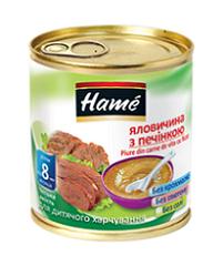 Пюре Hame 100г яловичина печінка