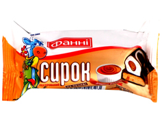Сырки Фанни 50г печенье сгущенка