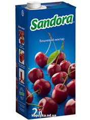 Нектар Сандора 2л вишня