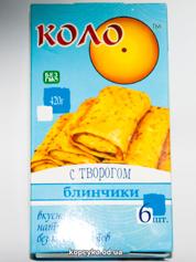 Млинці Коло 420г сир