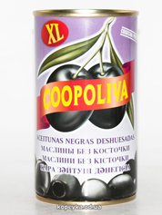 Маслини Коополива 370г б.к