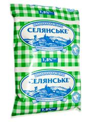 Молоко Селянське 900мл 1.5% т.ф