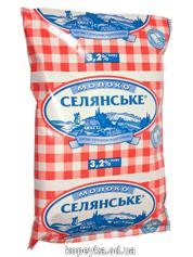 Молоко Селянське 900мл 3.2% т.ф