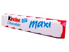 Шоколадний батон Кіндер 21г максі